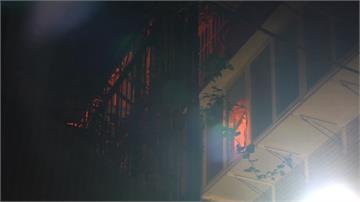 萬華公寓凌晨暗火 男子受困獲救送醫不治