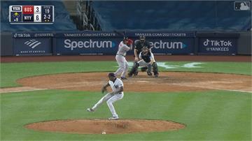 MLB/查普曼染疫復出飆火球 洋基跨季10連勝紅襪
