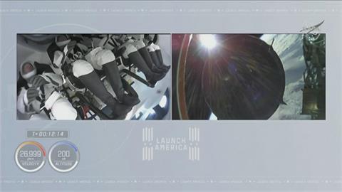 "SpaceX不到一年第3度載人上太空 首度""重複""使用火箭與太空船"