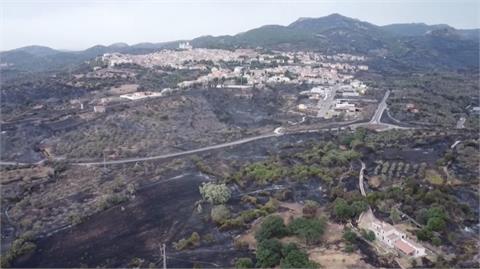 南歐水深火熱 義大利野火蔓延又遇水災