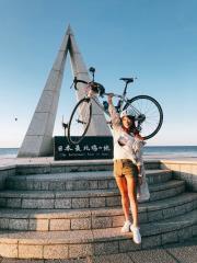 《Go Go Taiwan》遙控札幌電視台主持人代騎腳踏車!段慧琳另類同框伊藤沙菜