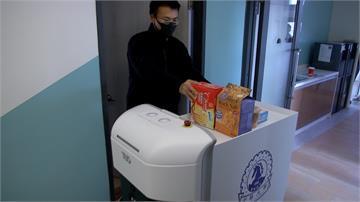 校園防疫大作戰!大學研發送餐機器人協助港澳生居家隔離