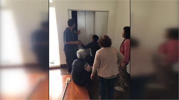 斷電!八旬婦困電梯2小時 家人急打119求救