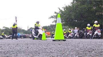 出勤意外頻傳 基市新進員警加強騎車訓練