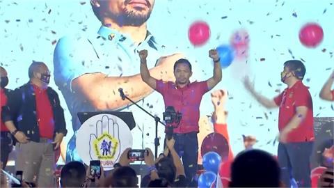 對決「最狂總統」杜特蒂 拳王帕奎奧宣布選總統