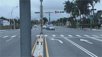 花蓮市區車流增多 議員提設「新式左轉避車道」