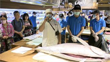 黑鮪魚現切上菜!百貨端午湧人潮