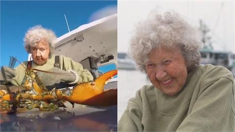 人瑞龍蝦奶奶!活力充沛的101歲捕蝦手 堅定稱:退休時間在墓碑上