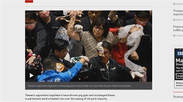 立法院「豬內臟」攻防戰!柯建銘:國民黨越來越幫派化
