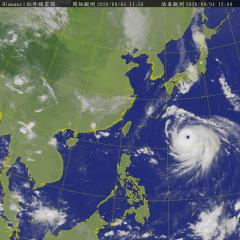 快新聞/海神增強成今年第一個強颱 北部東半部沿海防長浪