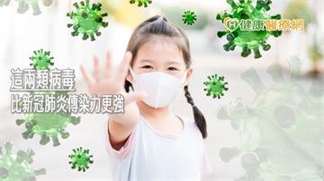 比新冠肺炎傳染力更強!這兩類病毒初期會發燒、咳嗽