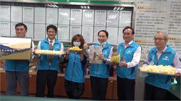疫情衝擊農產市場 郵局協助銷售鳳梨助農民