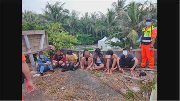 台籍漁船送越南偷渡客墾丁上岸 攔截22人、至少10人脫逃上岸