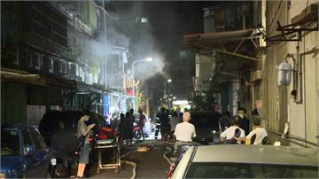 冰箱爆炸竄火煙 北市東園街民宅火警