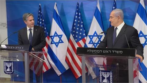 以巴簽和平協議 布林肯飛耶路撒冷確保停火
