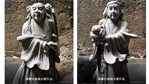 黃家「金銀廳」又遭盜墓!鹿港天后宮匠師蔣馨「青斗石」石雕整組被敲走