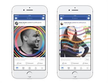 臉書慶祝同志驕傲月 推彩虹限定虛擬替身貼圖