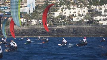 2024巴黎奧運新項目 風箏衝浪歐錦賽飆速74公里