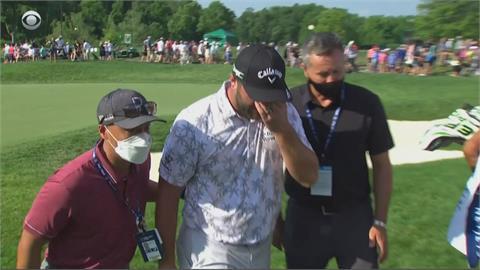 PGA衛冕冠軍拉姆確診被迫退賽千萬獎金全泡湯!拉姆難過落淚