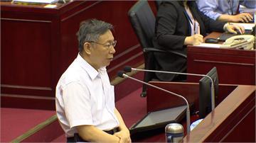 簡舒培建議找韓國瑜當民眾黨副主席 柯文哲笑:想太多了吧