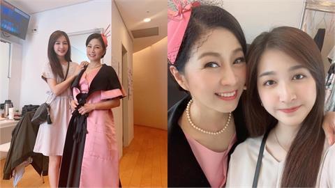 方文琳21歲女兒遺傳女神基因 母女同框合影「美翻」網友