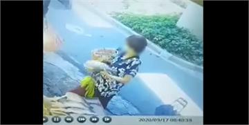快新聞/好大膽! 婦人在老闆娘背後偷魚遭逮