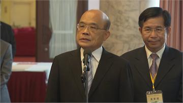 快新聞/六都抗議後「市長聯盟」火速更正 蘇貞昌:印證國人對外團結台灣不可輕侮