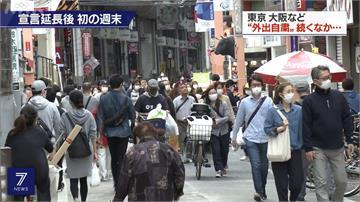 日本民眾周末大解放 官方急呼籲:鬆懈會反應在兩周後確診數字上