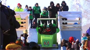 怪比賽回顧 俄羅斯創意雪撬賽特色十足