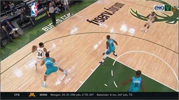 NBA/公鹿主場得分火力全開 137:96大勝黃蜂