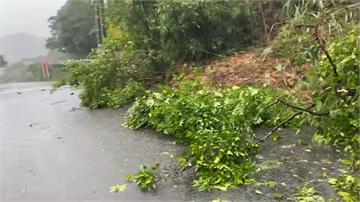 宜蘭連日大雨釀災!蘇花公路多處土石坍塌、路基淘空