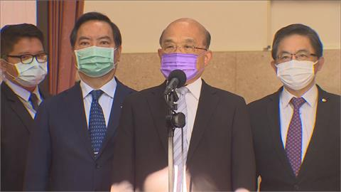 快新聞/蘇貞昌對消逝生命道歉 無證據顯示3+11是破口