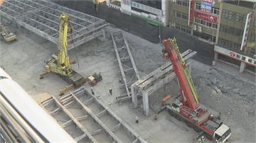 中博高架橋拆除工程遇首上班日交通順暢 拆除進度超前力拚3/8如期完工