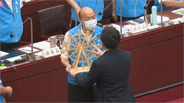 快新聞/痛批「三亂」市長 陳致中替韓國瑜圓摩天輪夢