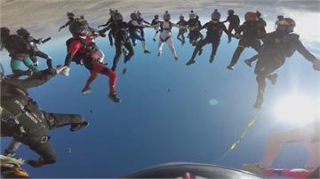 空中也是我地盤 女性跳傘運動人數急增