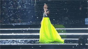 楊丞琳小巨蛋開唱第三場 李榮浩視訊送暖