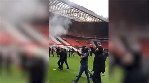 曼聯球場示威迫延賽 衝突中有2警受傷