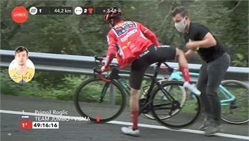 環西自行車賽第14站 羅格里奇換車仍保紅衫