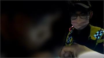 繃帶藏有玄機 男拒酒測吞夾鏈袋還咬警