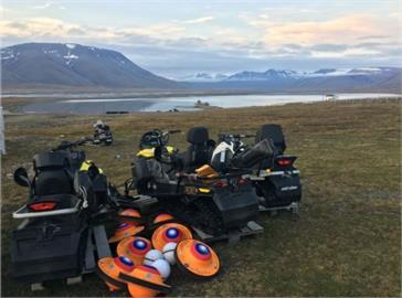 國海院北極海浮球回傳數據 有助研究融冰情形
