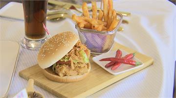 新漢堡口味好特別!「川麻雞絲咔啦雞腿堡」只賣5週