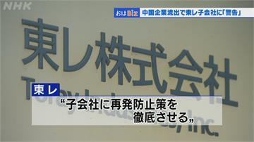 碳纖維違規轉賣多家未獲許可 中企東麗駐中國負責人 被日祭嚴重警告處分
