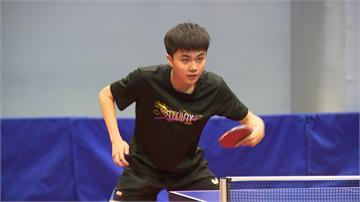 桌球/創生涯排名新高!林昀儒晉升世界第6