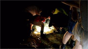 綠島「夜遊」探索潮間帶 300物種等你發掘