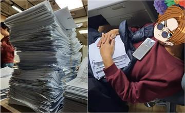 防疫保單5天狂收5千件!簽到手抽筋、累癱睡公司