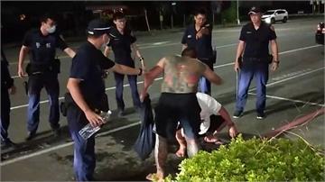 同事酒後翻臉互毆 警壓制打斷齊眉棍
