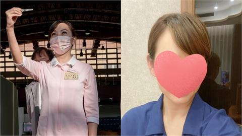 護理師「高舉疫苗」暴紅!撞臉「這女星」本尊驚:自己都嚇一大跳