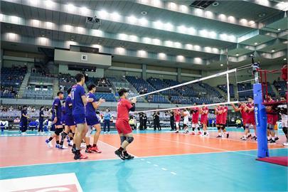 台灣男排不敵伊朗吞首敗 分組第2晉級4強