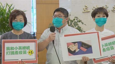 快新聞/江啟臣緊咬暈針罵政府 綠委秀漫畫這場景諷:一定是柯南看太多