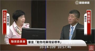 快新聞/美豬議題延燒 楊瓊瓔:人民健康不該是換取國際地位的犧牲者